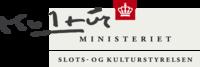 Slots- og Kulturstyrelsens logo
